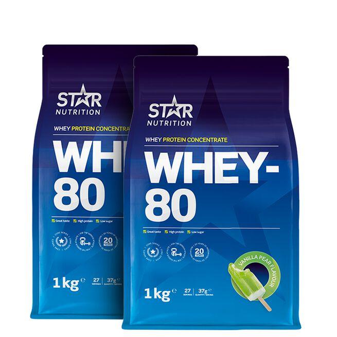 Star Nutrition Whey-80 proteinpulver