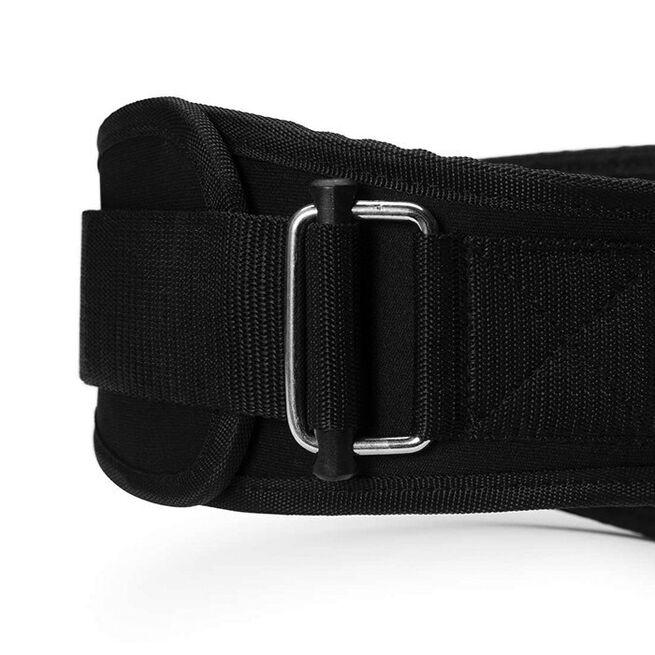 Womens gym belt, XS, Black/aqua