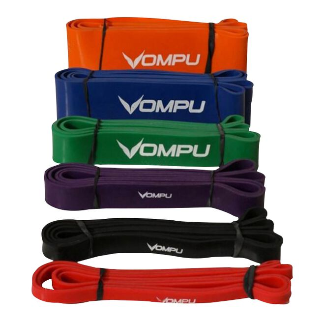 OMPU Extreme Fitness Band, Black, 200cmx22mm