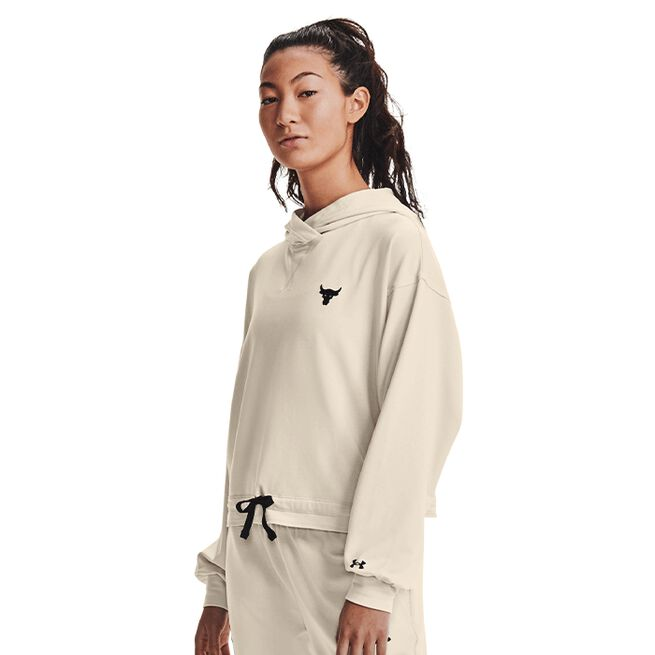 Under Armour Project Rock Terry Pullover Summit White