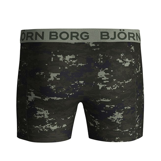 Björn Borg 2-Pack Sammy Shorts BB Digital Woodland, Forest Night
