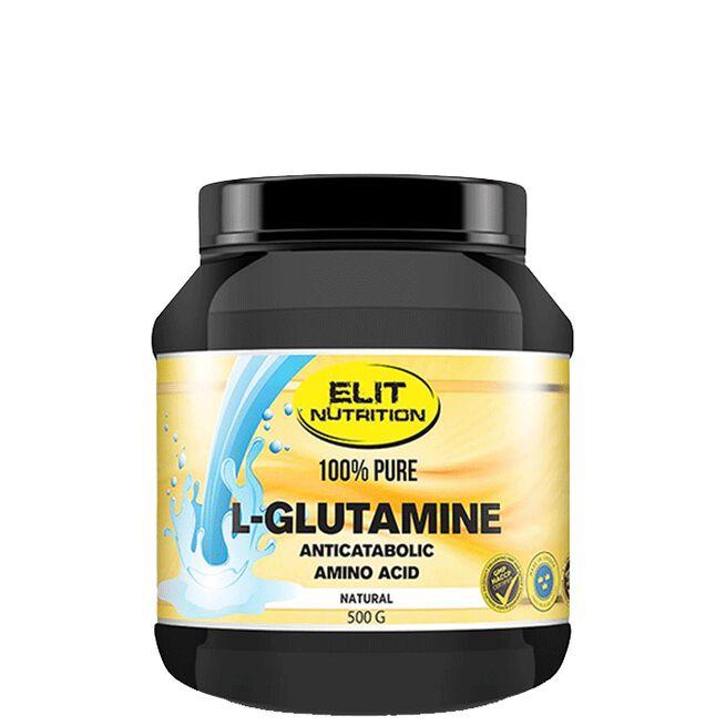 Elit nutrition ELIT 100% Pure L-glutamine, 500 g