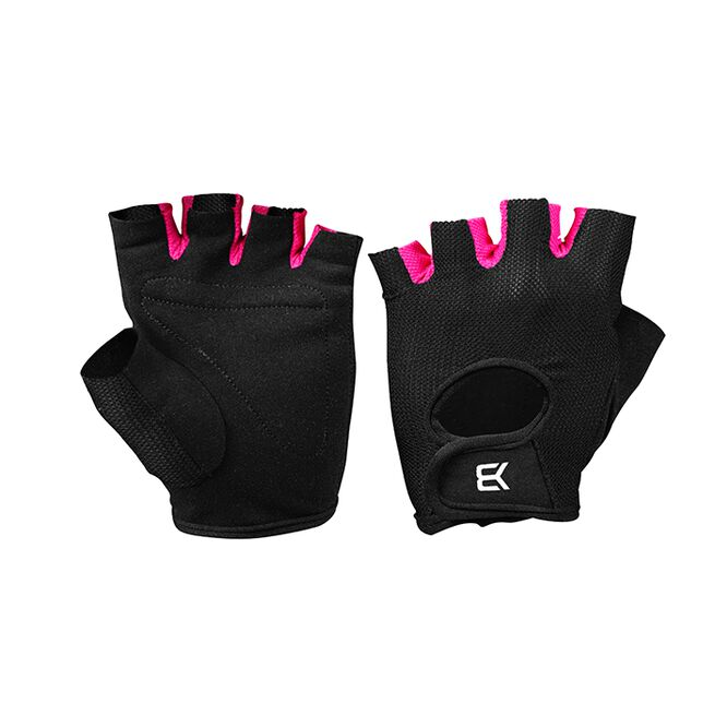 BB Womens Training Gloves, Black/Pink, S
