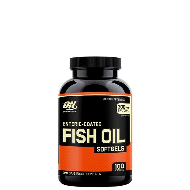 Optimum Nutrition, Enteric-Coated Fish Oil, 100 softgels
