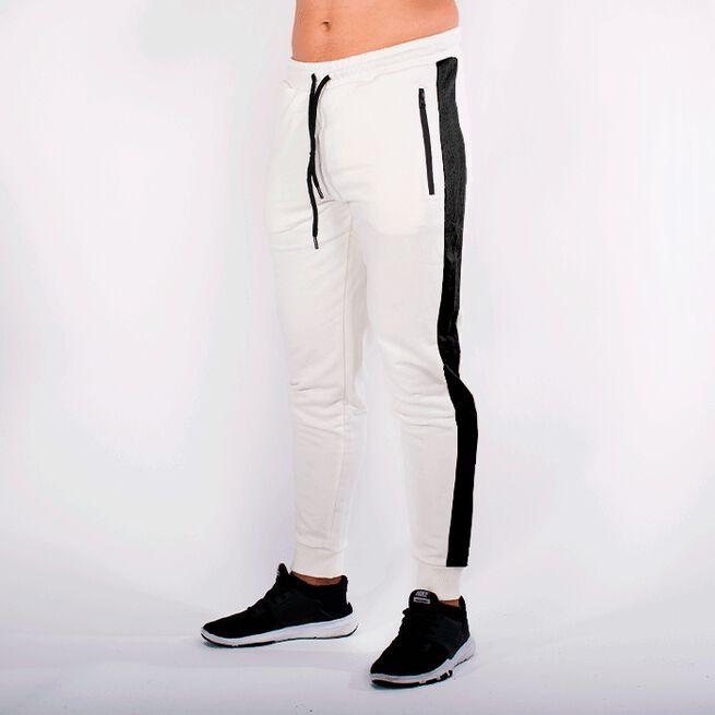 Star Gym Joggers, Off white/Black, L
