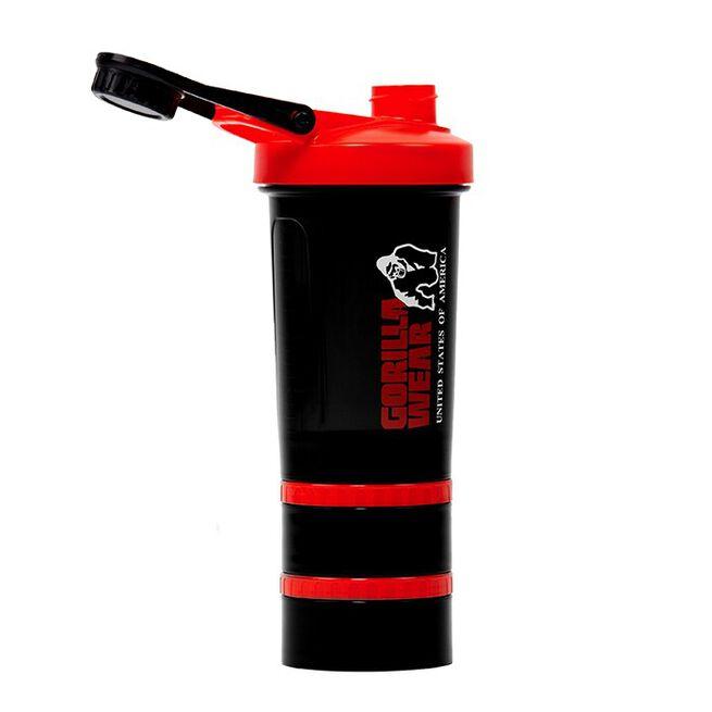 Shaker 2 Go 760 ml, Black/Red