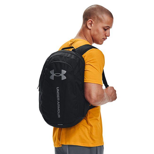 UA Hustle Lite Backpack, Black