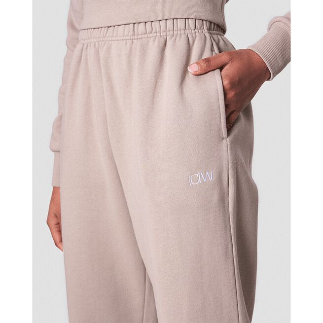 Essential Sweatpants, Dark Taupe, L