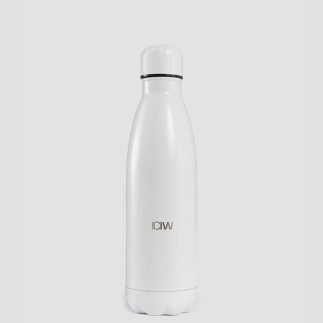 ICIW Waterbottle Stainless Steel 500ml White