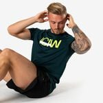 Mesh Training T-shirt, Vivid Green Melange, L