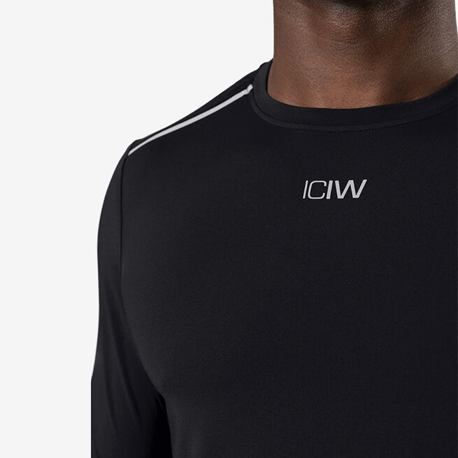 ICIW Lightweight Training LS, Black