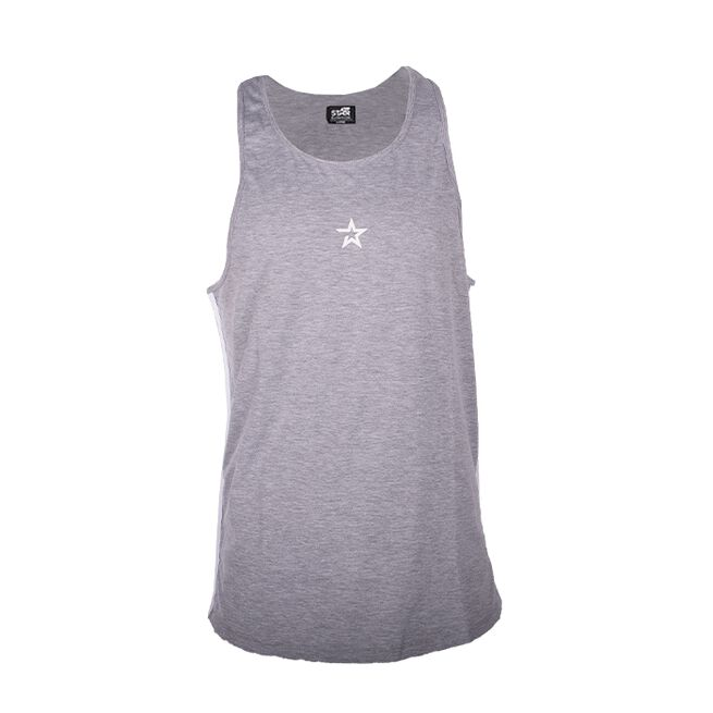 Star Nutrition Tank Top, Grey Melange, S