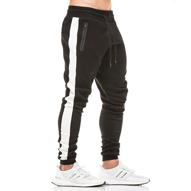 Star Gym Joggers, Black/White, XL