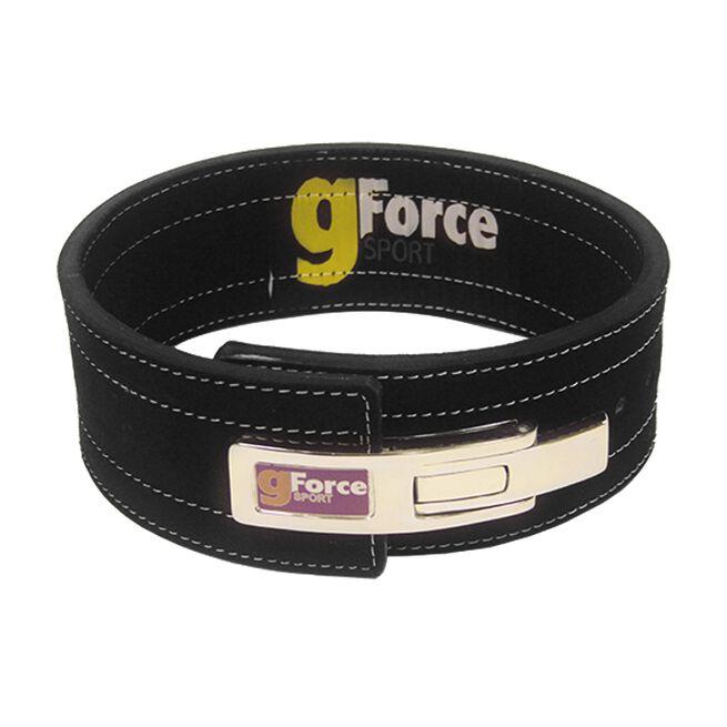 gForce Action-lever Belt, 11mm, black, XX-large