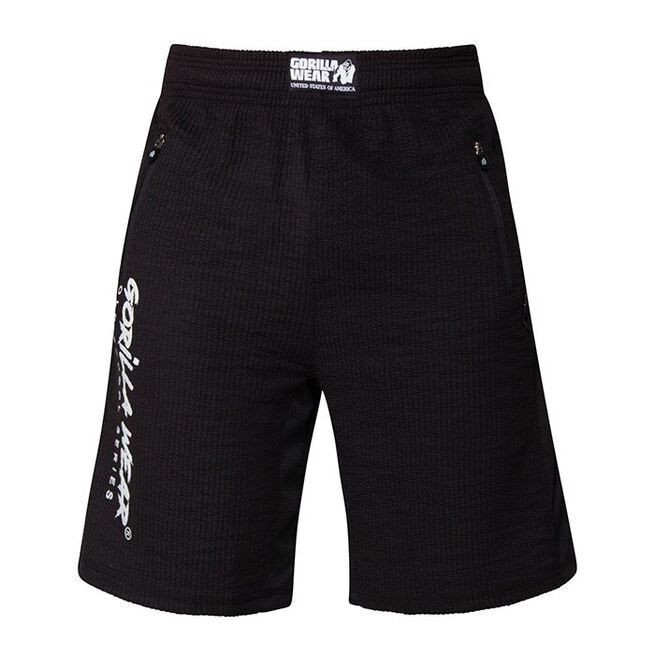 Gorilla Wear Augustine Old School Shorts, Black
