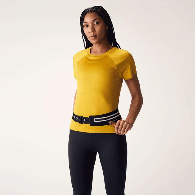Issa Expandable Running Belt, Black