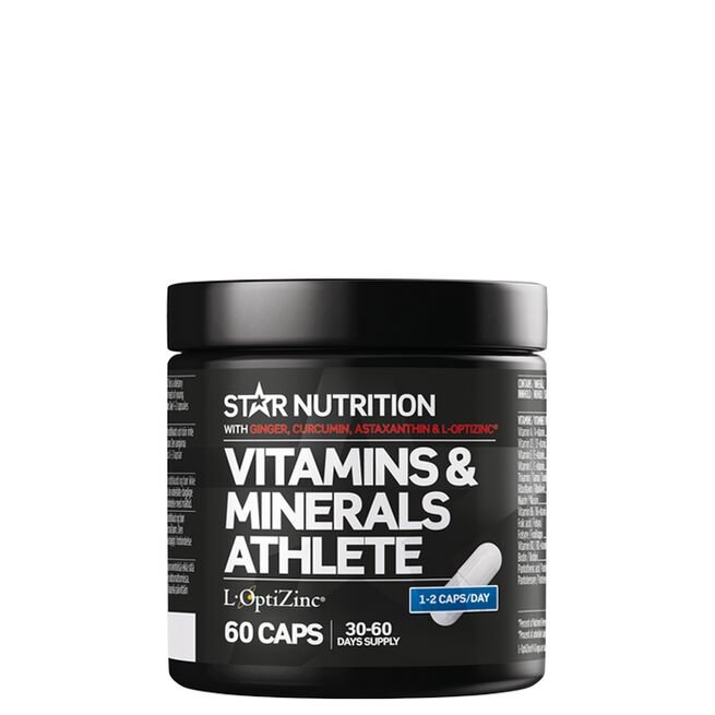 Star nutrition Vitamins & minerals athlete