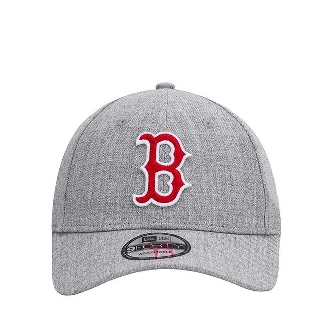 New Era 940 Heather Twill Boston Red Sox, Light Grey