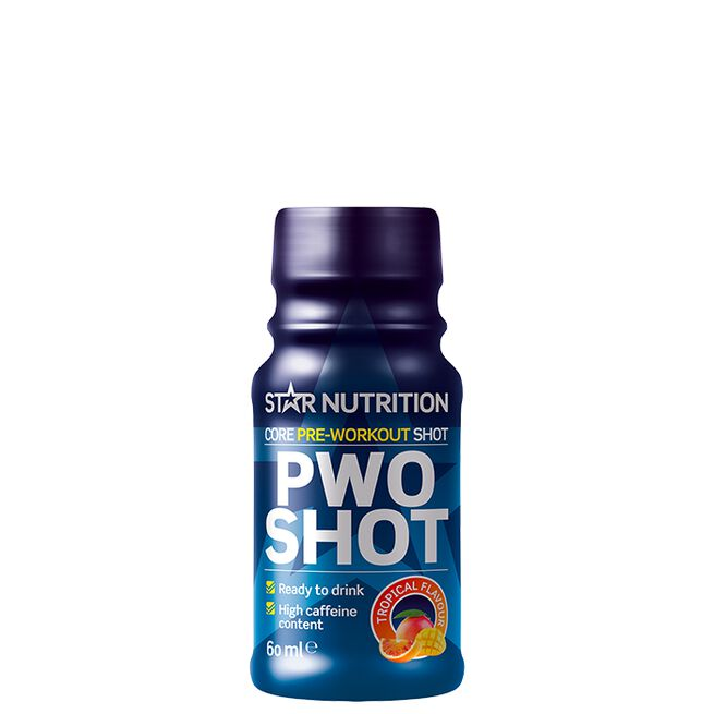 Star nutrition PWO shot Tropical