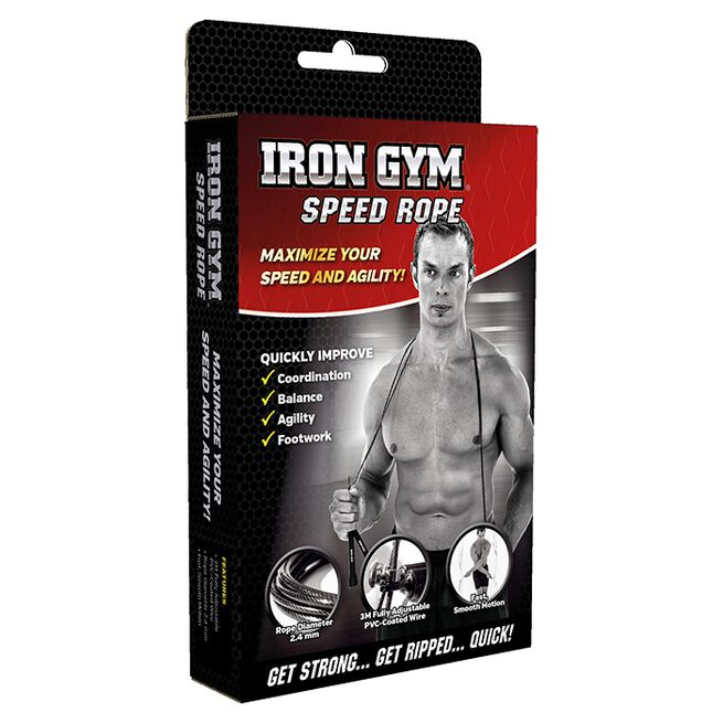 Iron Gym Wire Speed Rope