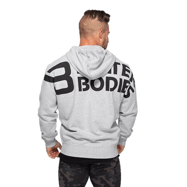 Better Bodies Stanton Hoodie, Light Grey Melange