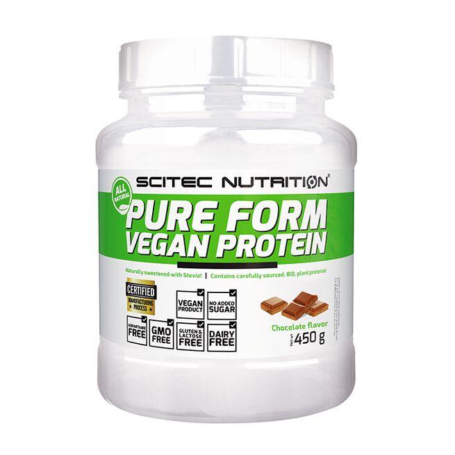 Pure Form Vegan Protein 450 g Chocolate