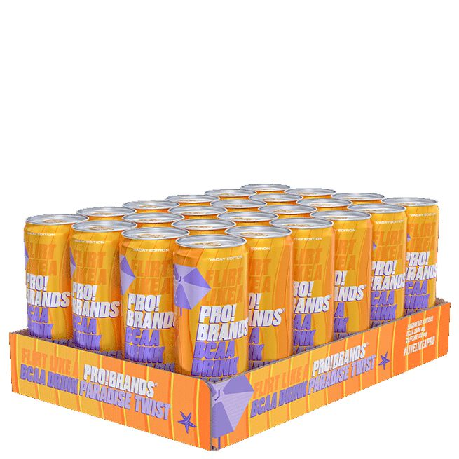 24 x Pro Brands BCAA Drink, 330 ml