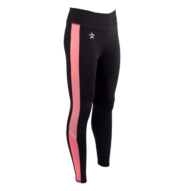 Star Striped tights, Pink Passion, S