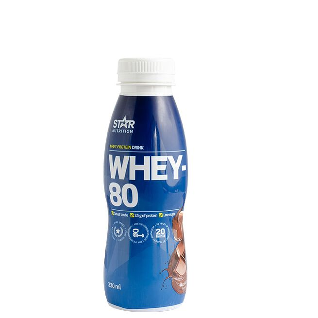 Star Nutrition RTD drink chocolate whey-80