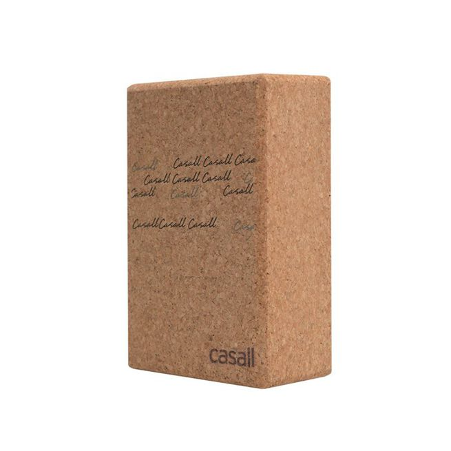 Yoga Block, Natural Cork