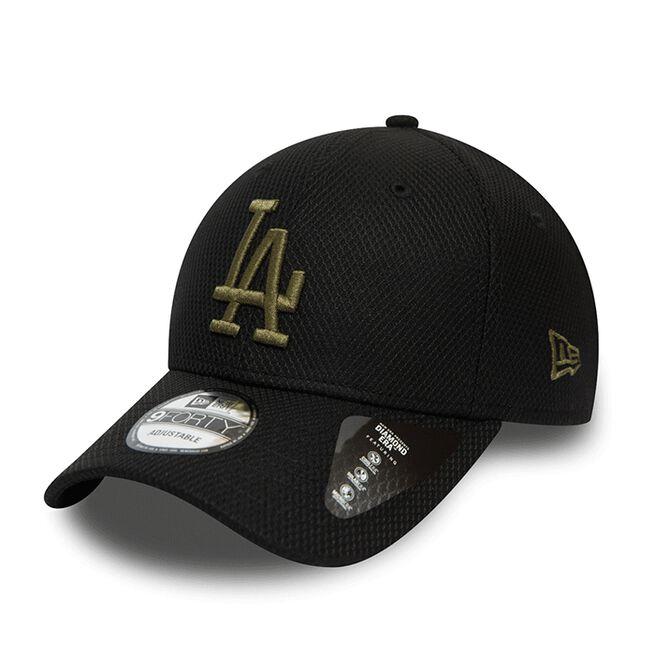 Diamond Era 9FORTY Los Angeles Dodgers, Black/New Olive
