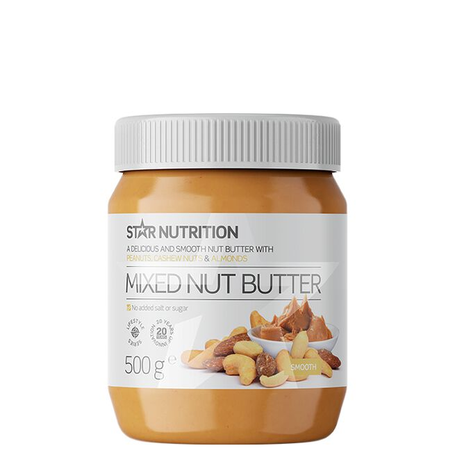 Star Nutrition Mixed nut butter