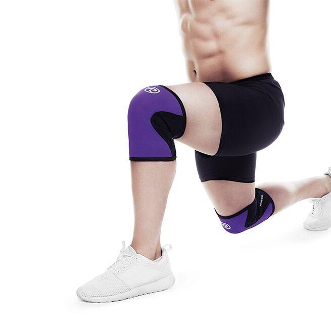 RX Knee Sleeve, 5mm, Purple/Black, L