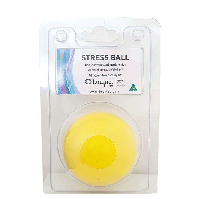 Loumet Stress Ball, Yellow