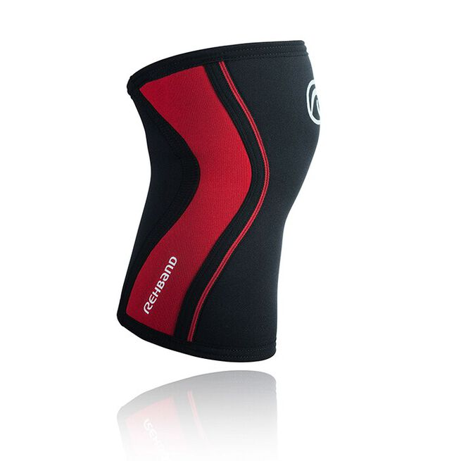 RX Knee Sleeve, 3mm, Black/Red, XS