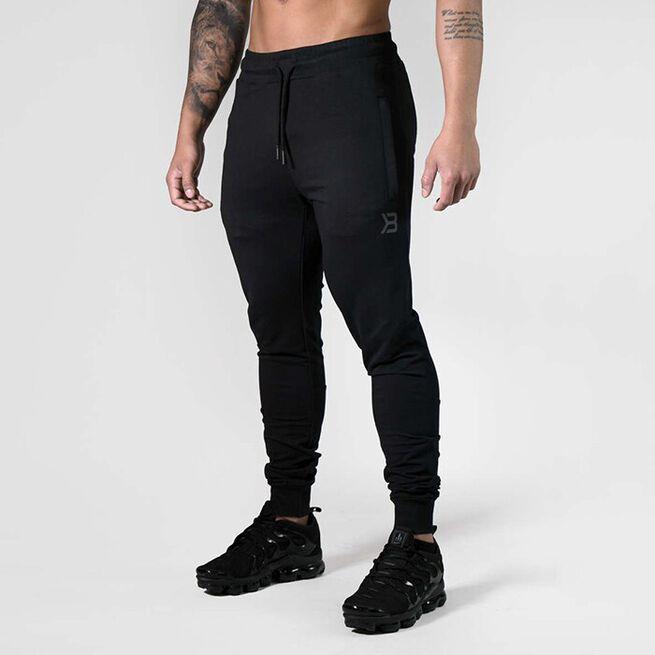 Tapered Joggers V2, Black, XL