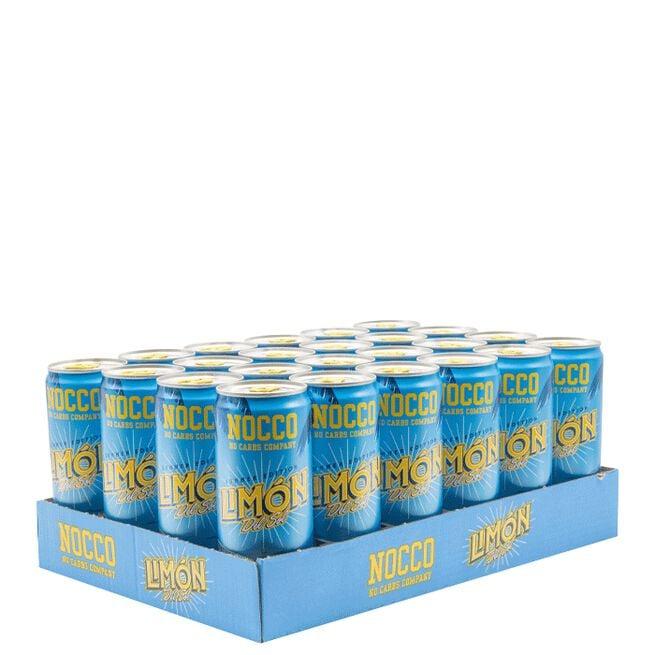 24 x NOCCO BCAA, 330 ml, Limon del Sol, Norge