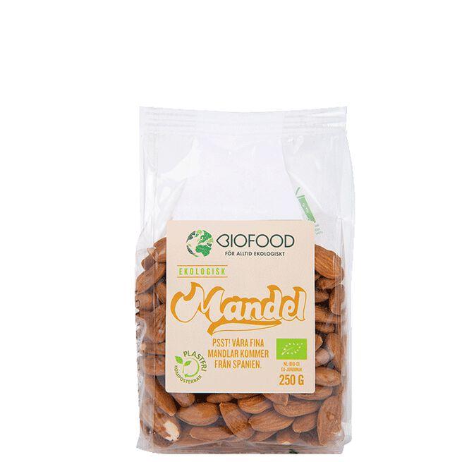 Mandel Hel, 250 g Biofood