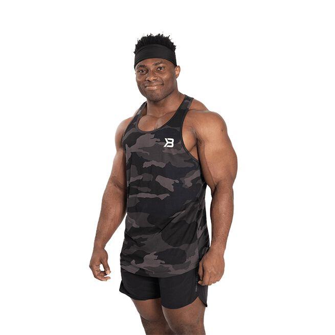 Better Bodies Essential T back Dark Camo