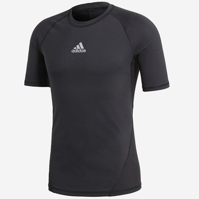 Bilde av Adidas Alpha Skin S/s, Black
