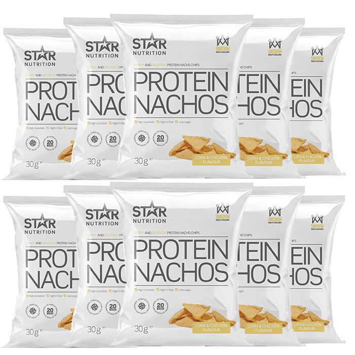 Bilde av 10 X Protein Nachos, 30g