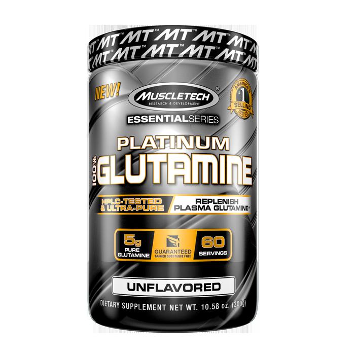 Bilde av 100% Platinum Glutamine, 300g