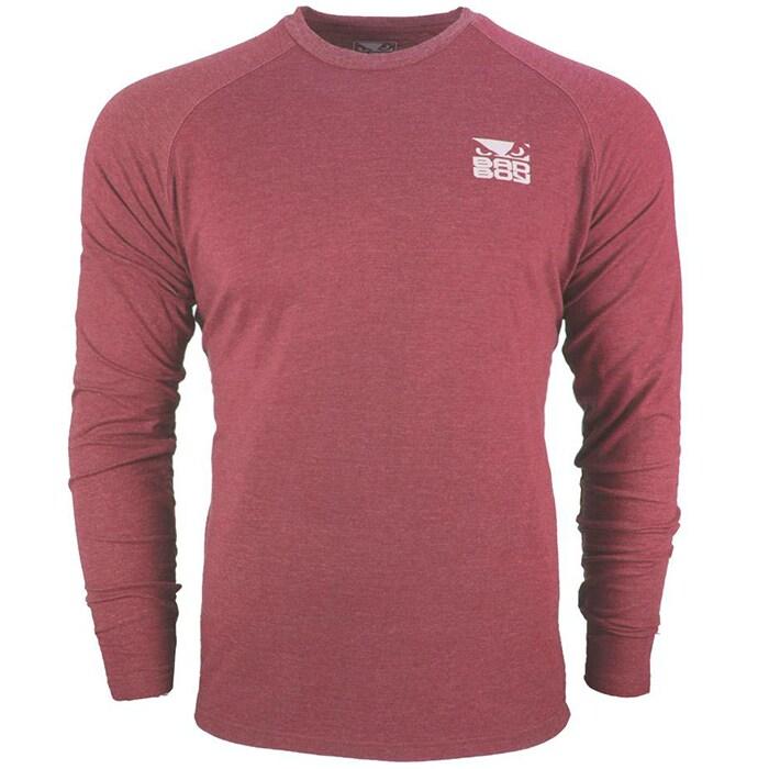 Bilde av Bad Boy Icon T-shirt - Long Sleeve, Red
