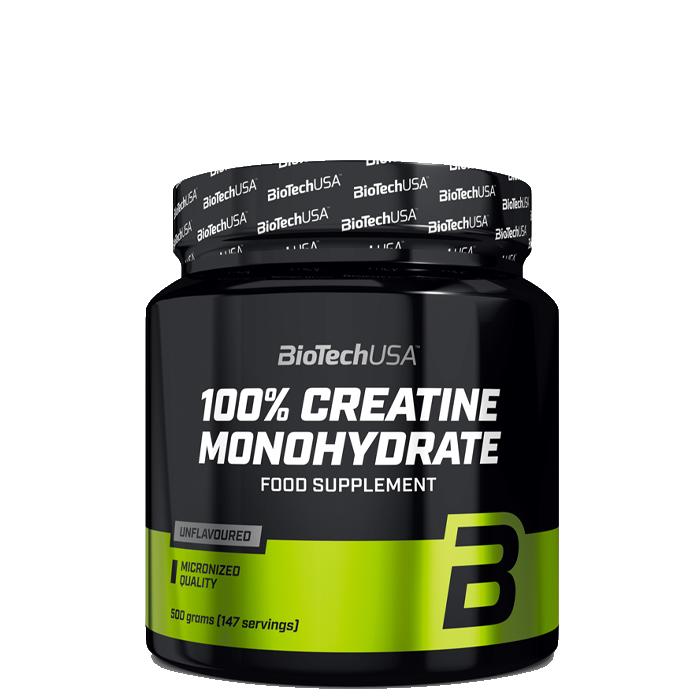 Bilde av 100% Creatine Monohydrate, 500 G