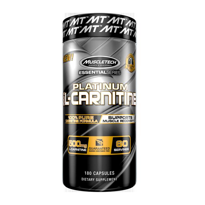 Bilde av 100% Platinum Carnitine, 180 Caps