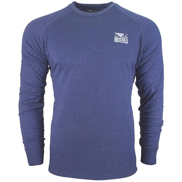 Bilde av Bad Boy Icon T-shirt - Long Sleeve, Blue