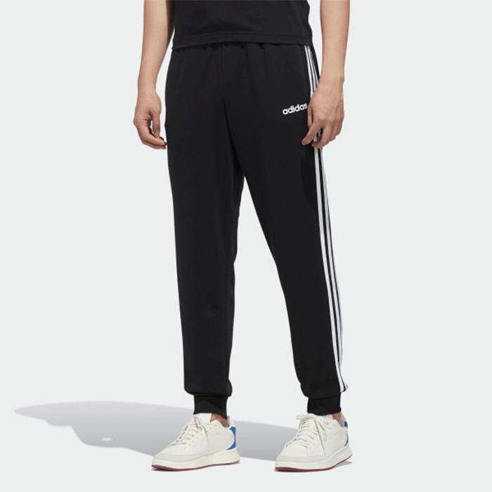 Bilde av Adidas Essential 3 Stripe Tapered Fit Pnt, Black