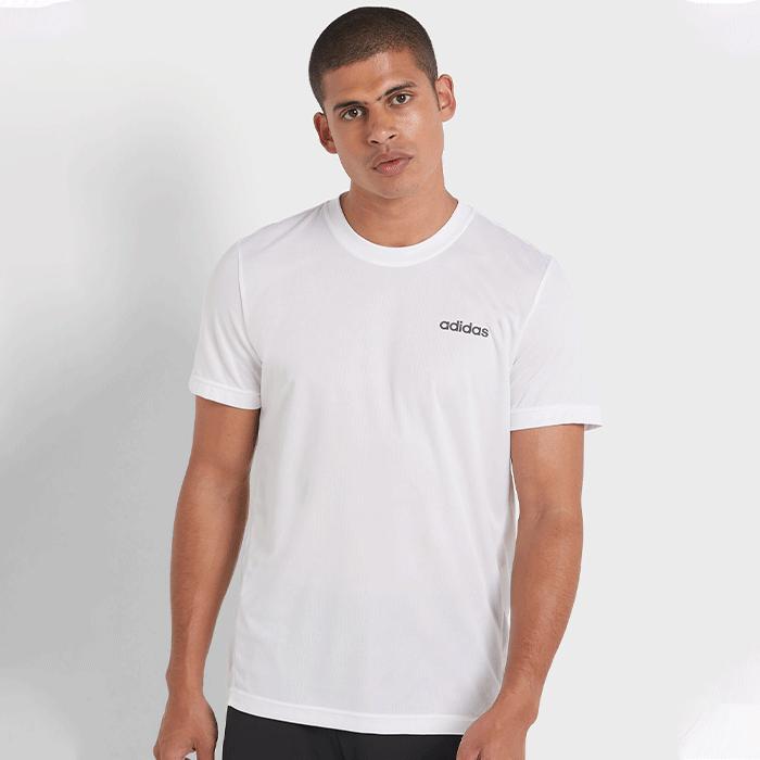 Bilde av Adidas D2m Climacool Plain Tee, White