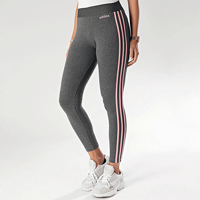 Bilde av Adidas Essential 3s Tights, Grey/pink