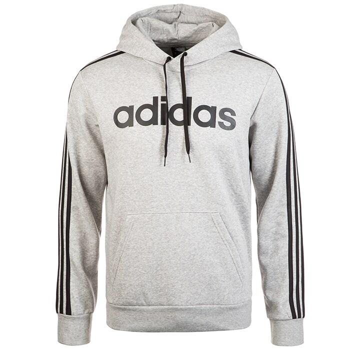 Bilde av Adidas 3 Stripe Pullover Hoodie, Grey